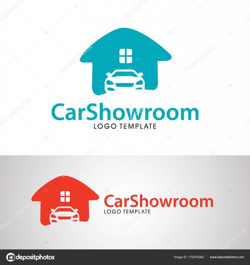 Coche salón plantilla de logotipo — Vector de stock © yugra #172476382