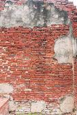 starověké starých červených cihel grunge zdi fragmentu pozadí, textury