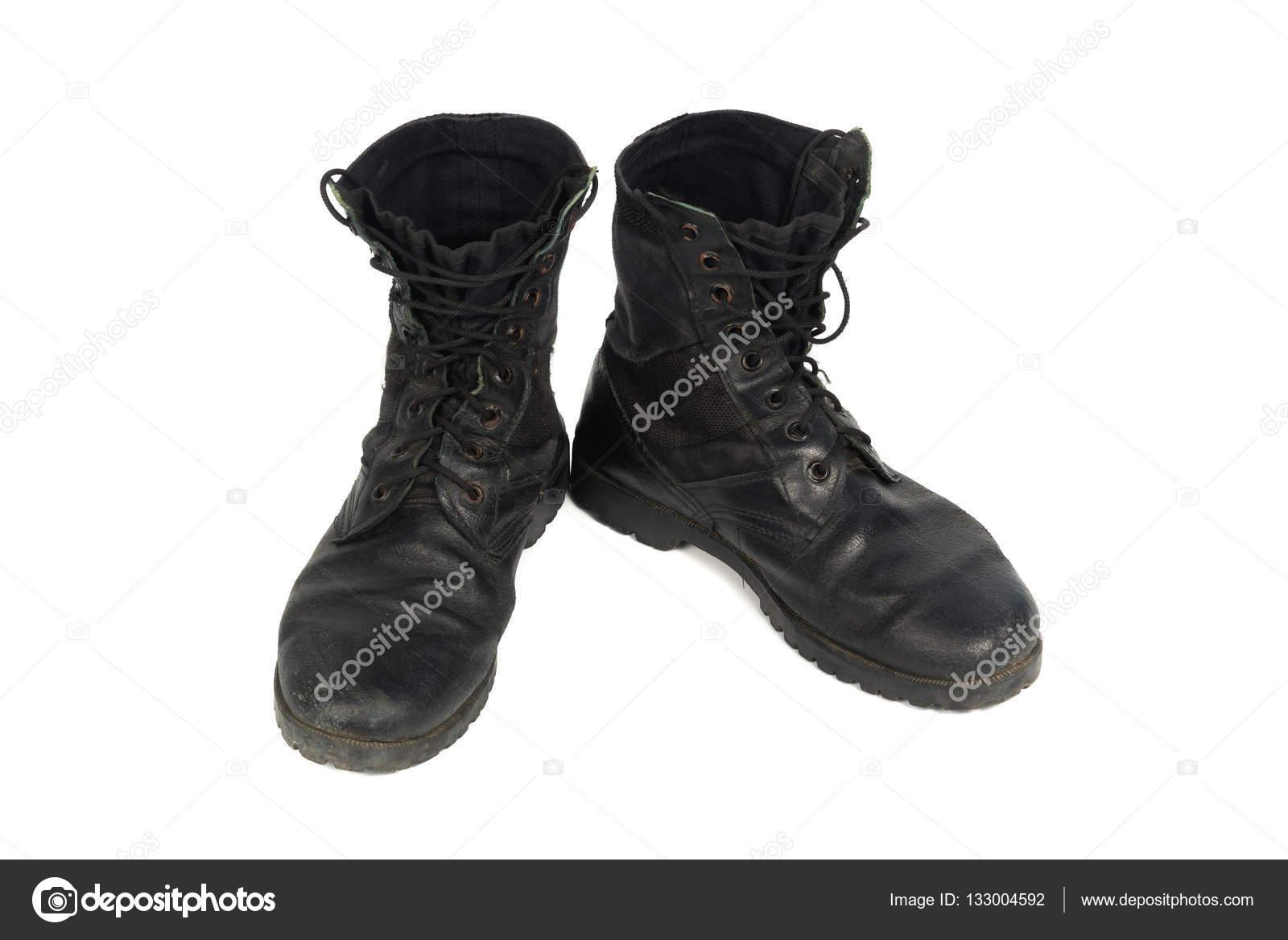 Pour NoirIsolé Combat Sur Chaussure Blanc Homme Fond EDH29IYW