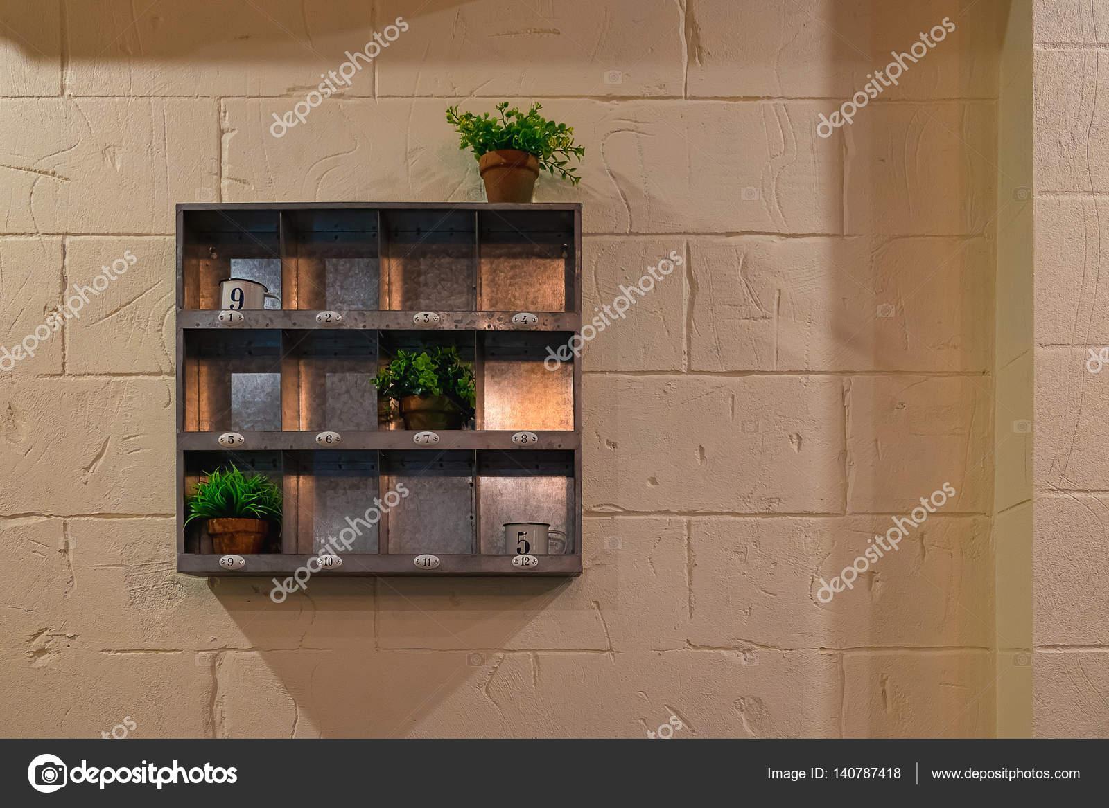 Półki Metalowe Stylu Retro Powiesić Na ścianie Dekoracyjne