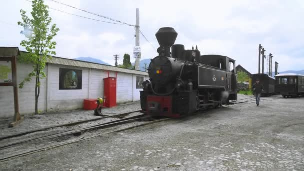 Old steam locomotive in Romania, Steam narrow gauge train, Steam train chugging through the countryside, narrow-gauge railway