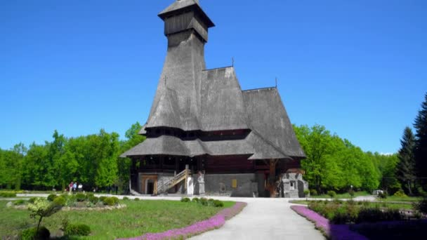 wooden church in Maramures, Romania, The Highest Wooden Church In The World, Sapanta-Peri Monastery, Bucovina  Romania, Wooden church UNESCO world