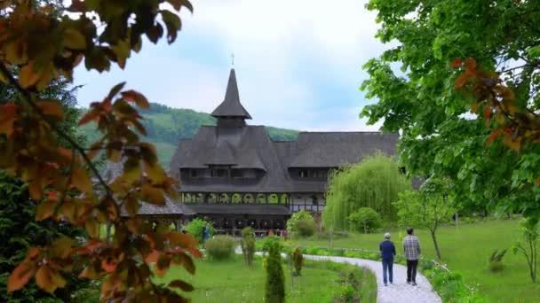 wooden church in Maramures, Romania, The Highest Wooden Church In The World, Sapanta-Peri Monastery, Bucovina  Romania, Wooden church UNESCO world