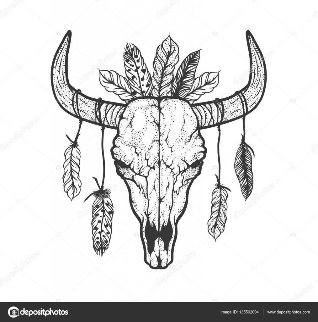 Ram Horns Tattoo Designs