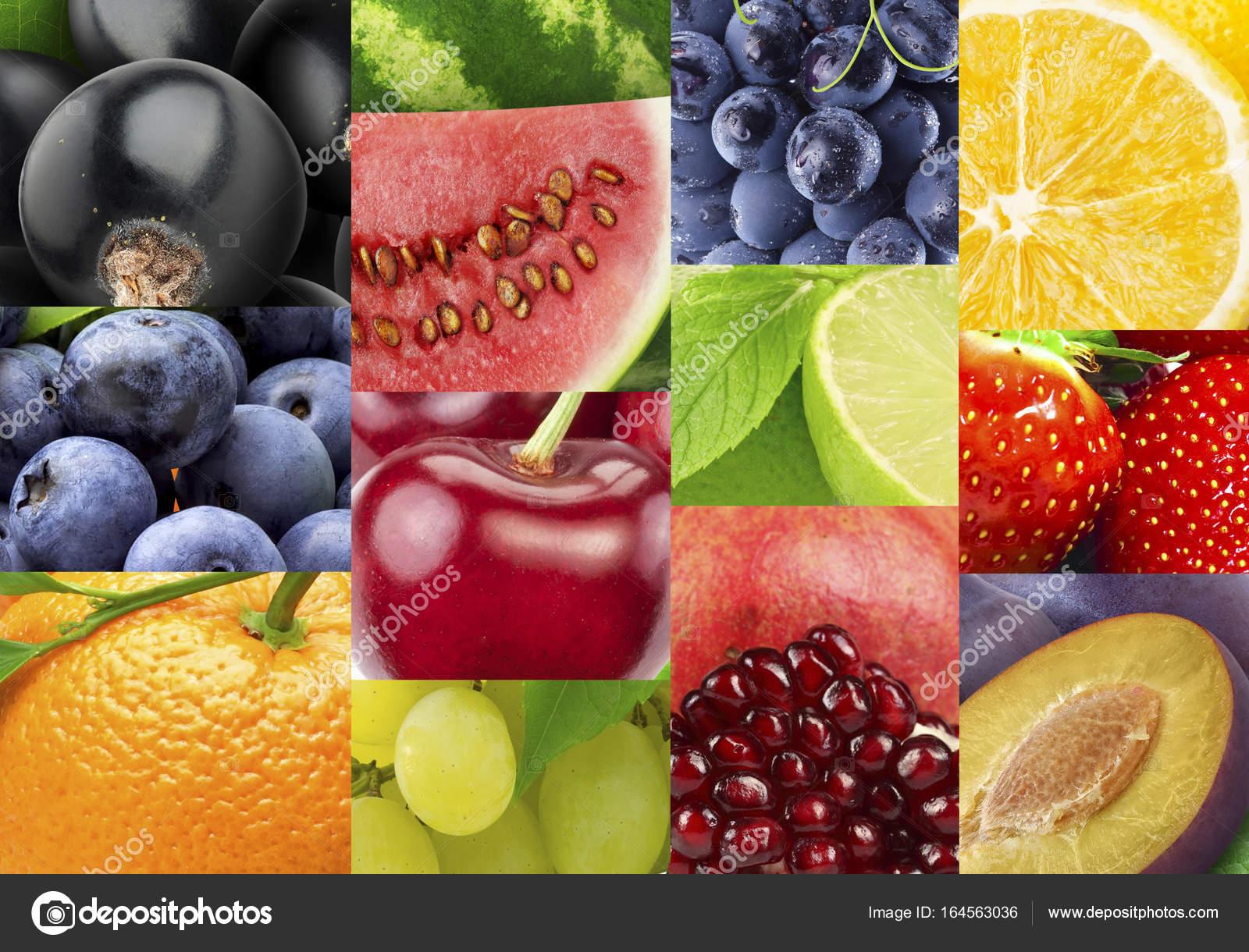 Frische Farbe-Früchte und Gemüse. Gesunde Ernährung-Konzept ...