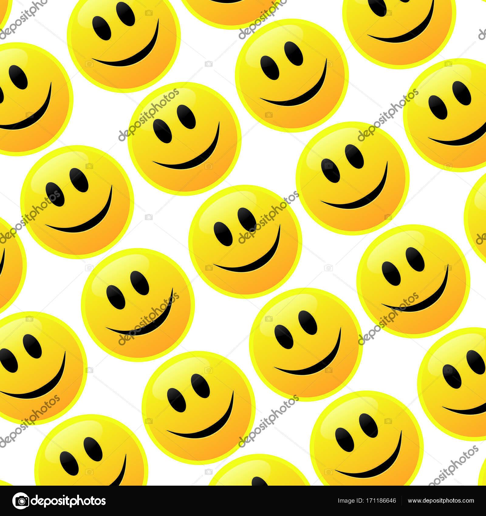 Moderne Stoffe menge des lächelns emoticons lächeln symbol muster moderne muster
