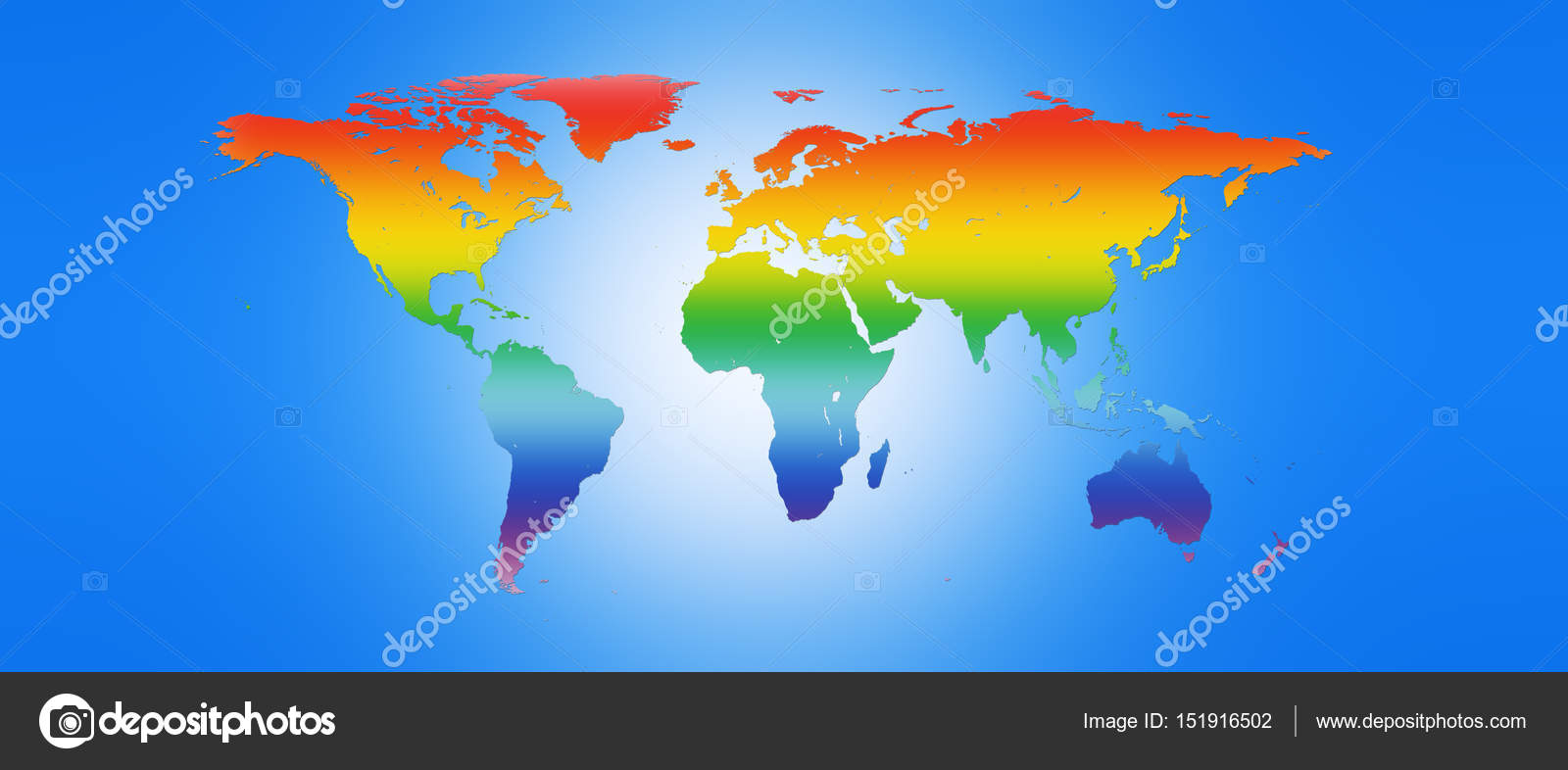 World map in peace colors 3d illustration stock photo world map in peace colors 3d illustration stock photo gumiabroncs Images