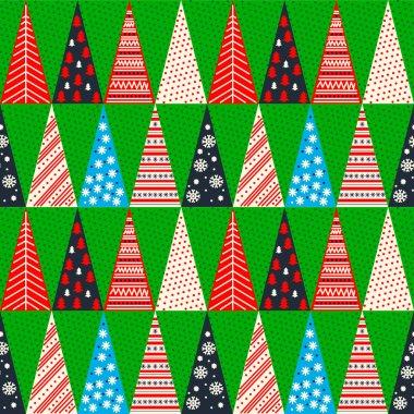 Merry Christmas, seamless texture, pattern, vector