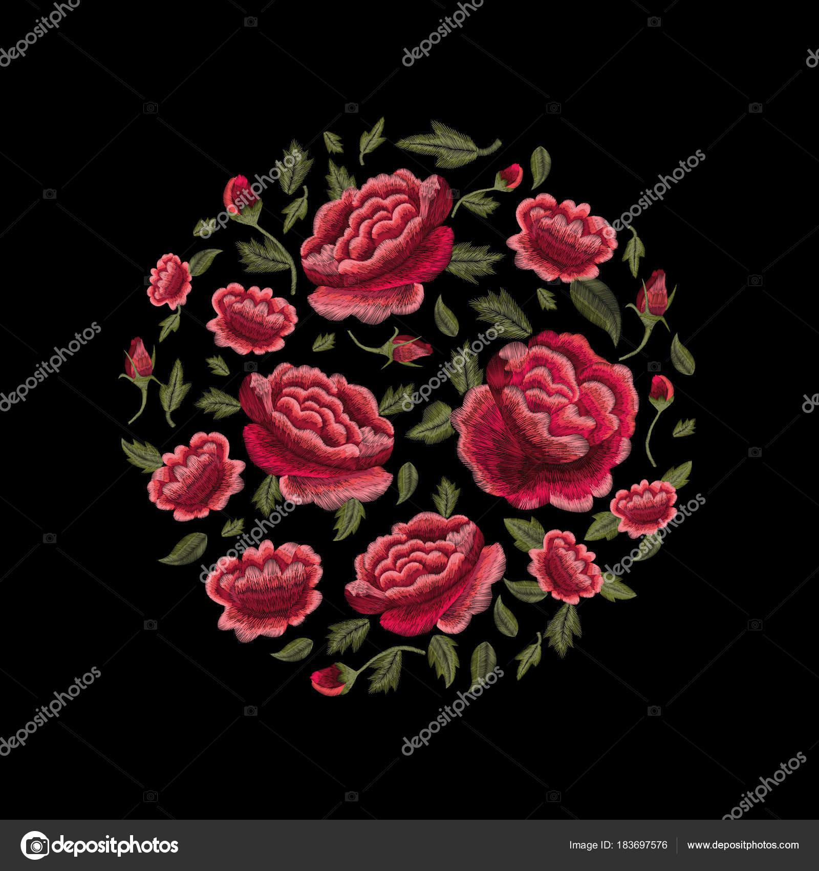 Imagenes Rosas Tradicionales Conjunto Flores Tradicional Popular