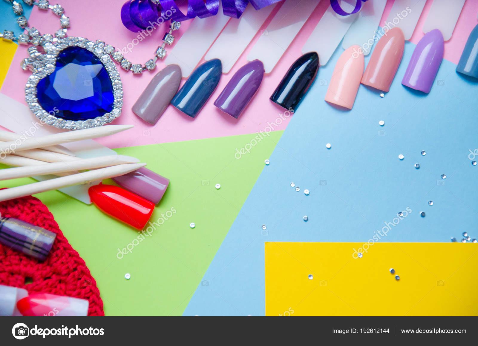 Wunderbar Pop Der Farbe Nagel Ideen - Nagellack-Design-Ideen ...