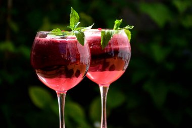 Berry summer cocktail