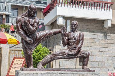 China, the Shaolin Monastery