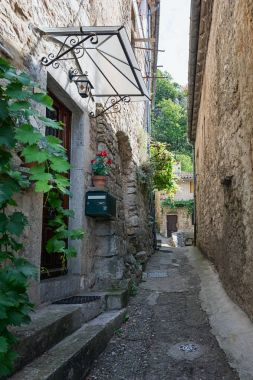 Impression of the village Vogue in the Ardeche region of France