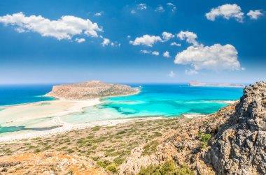 Balos lagoon on Crete island, Greece.