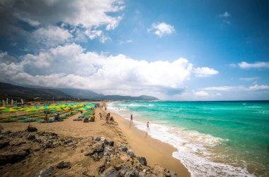 Falasarna beach, Crete island, Greece
