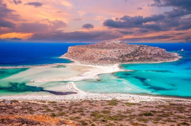 Balos beach, Greece island.
