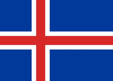 Official Flag of Iceland