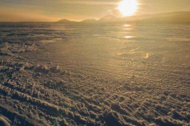 Sunrise in Russian Lapland, Kola Peninsula