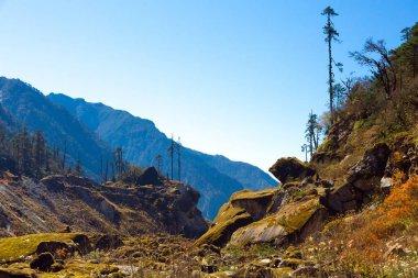 Fairy Mountain Landscape in Nepal