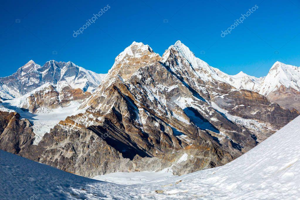 High Peaks in Himalaya