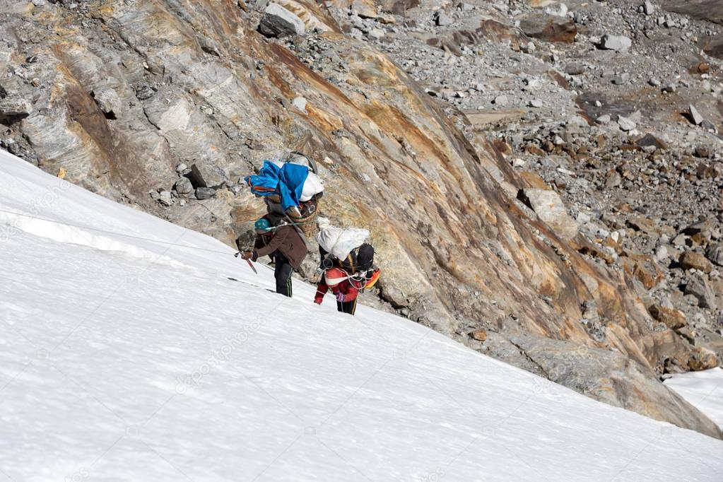 Nepalese Mountain Porters