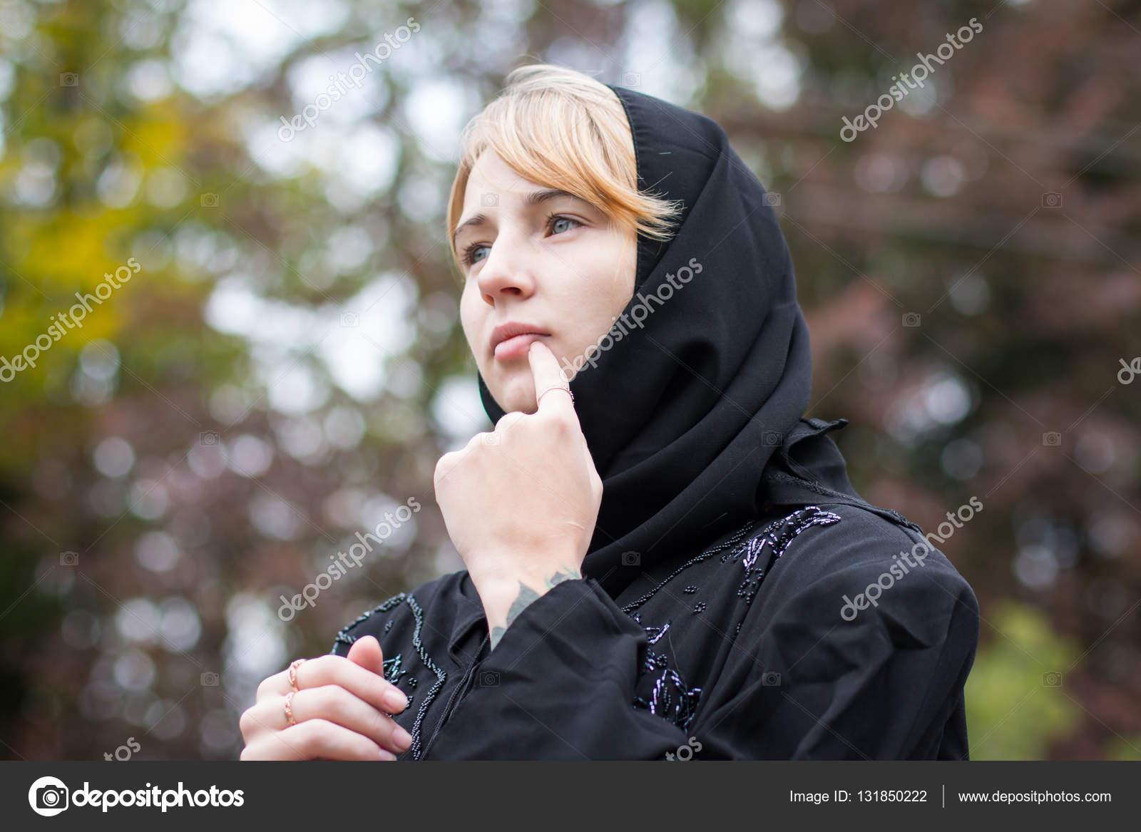nice girl outdoor in an autumn — stock photo © keleny #131850222