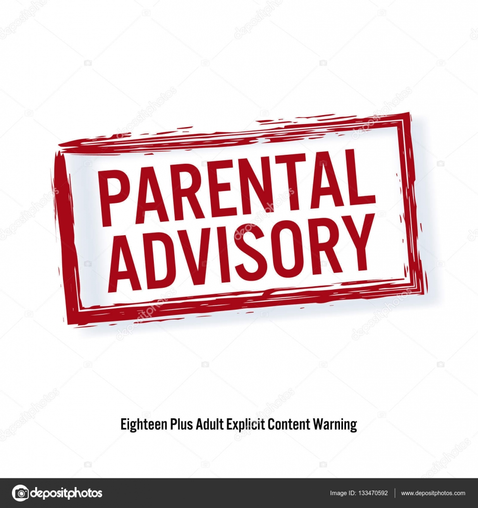 how to make parental advisory logo