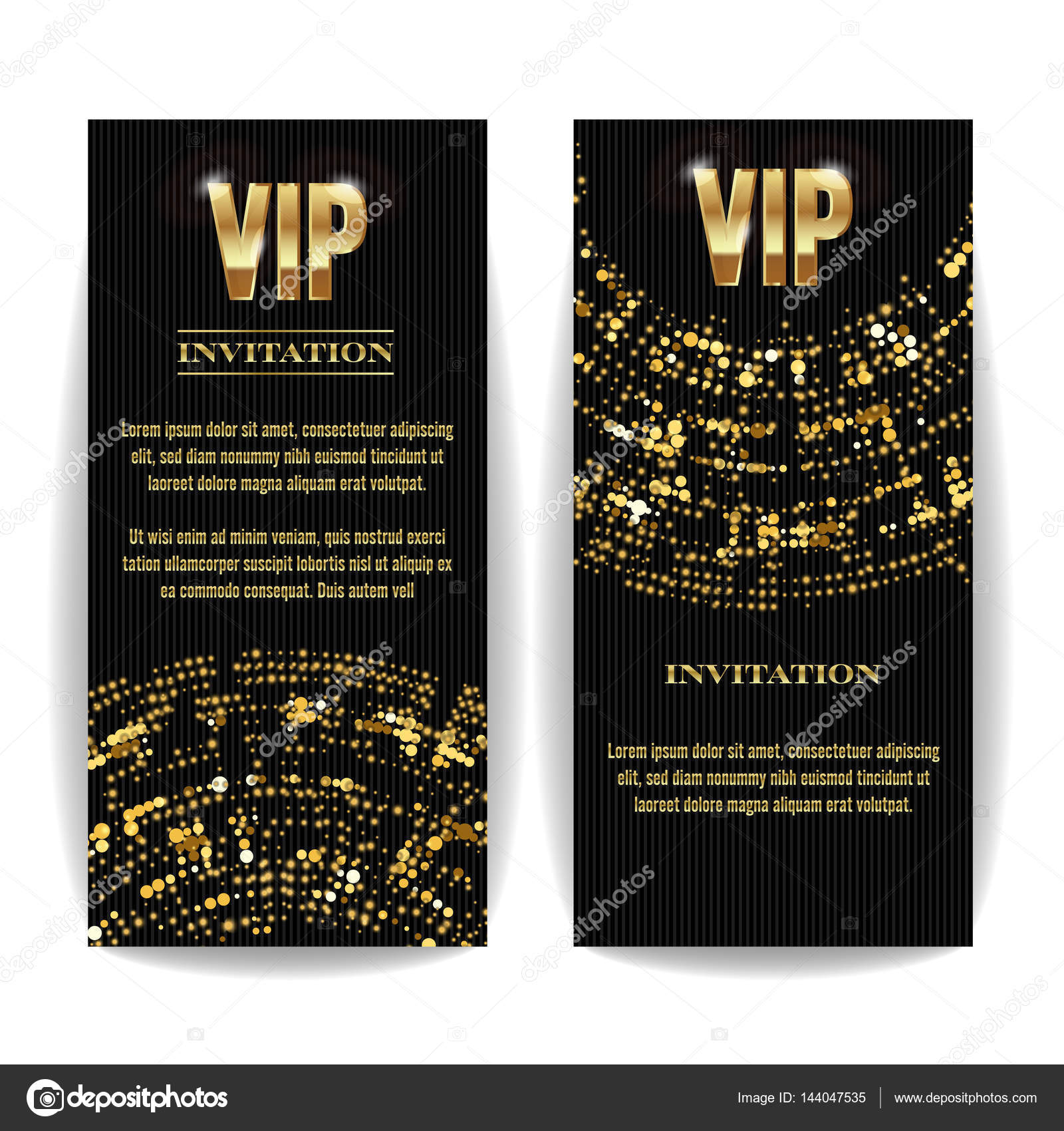 Vip invitation card vector party premium blank poster flyer black vip invitation card vector party premium blank poster flyer black golden design template spiritdancerdesigns Image collections