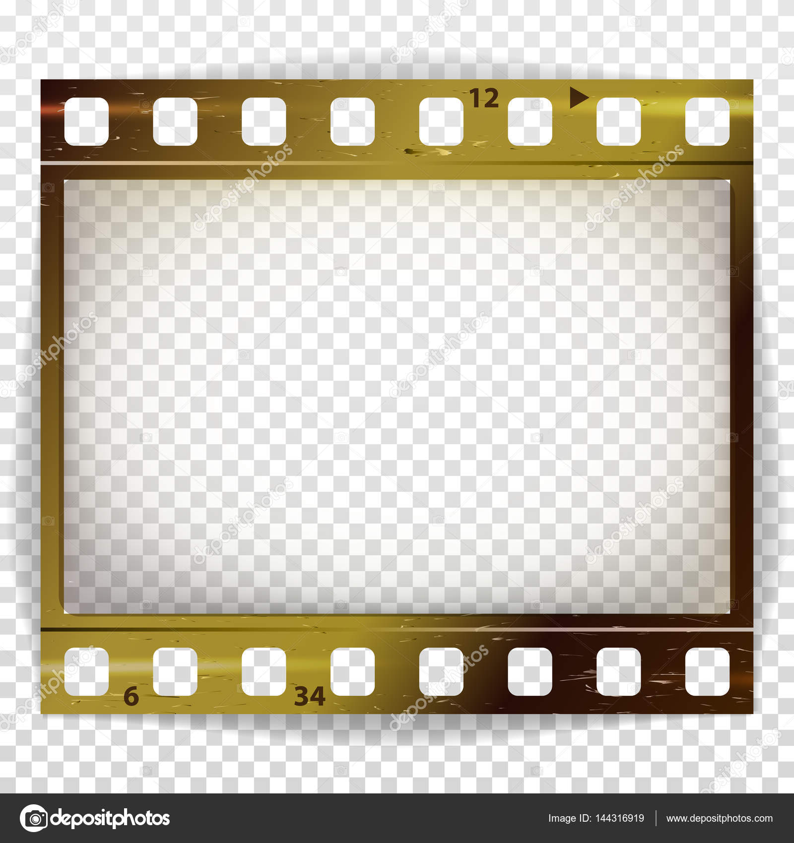 Film strip vector cinema of photo frame strip blank scratched film strip vector cinema of photo frame strip blank scratched isolated on transparent background jeuxipadfo Image collections
