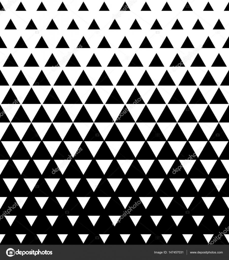 Halbton Dreieckigen Muster Vektor Abstrakte übergang Dreieckigen