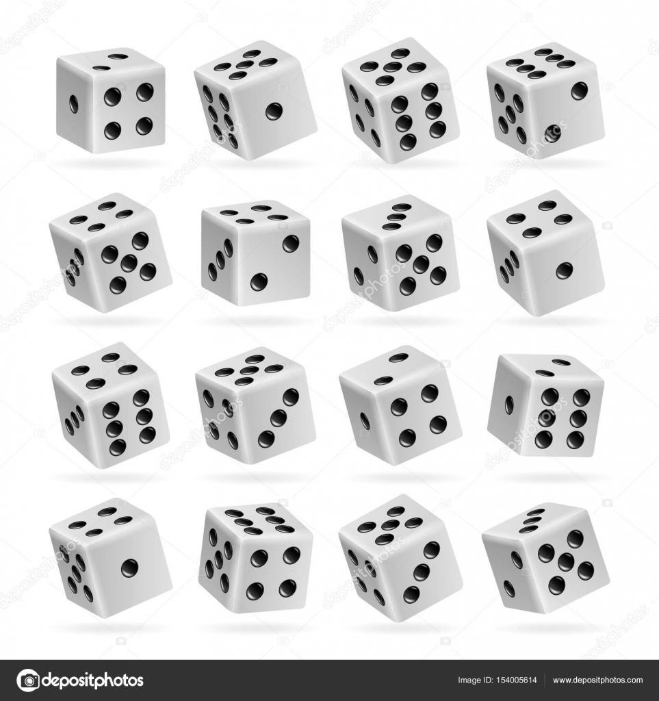 Imagenes Juegos De Cubos De Colores 3d Dados Juegos Vector
