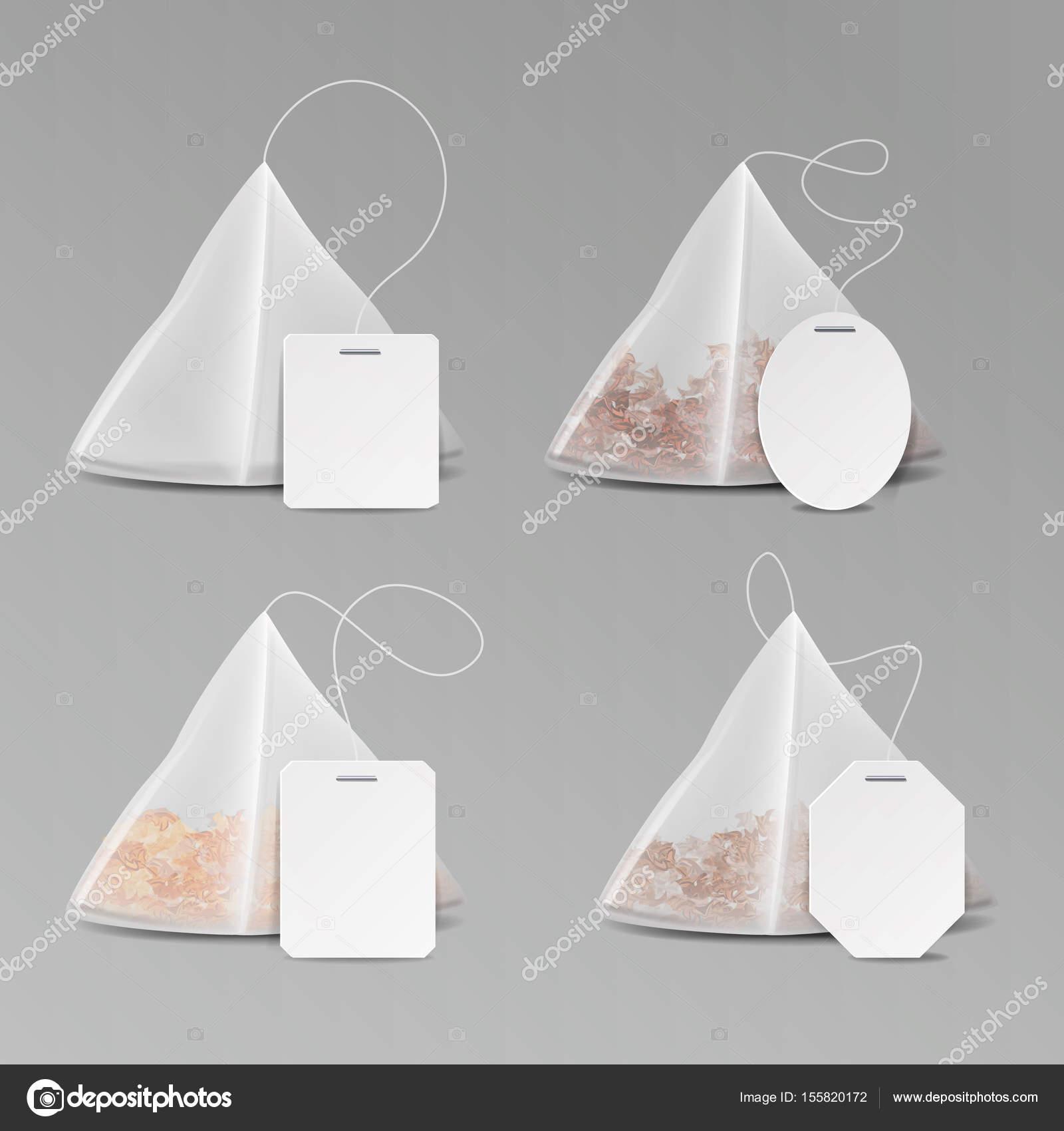 jeu pyramide forme sachet de th maquette avec la place. Black Bedroom Furniture Sets. Home Design Ideas