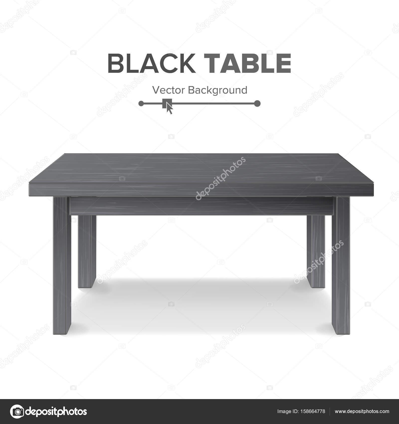 Möbel Leer dunkeln leer square tisch plattform isolierte möbel plattform
