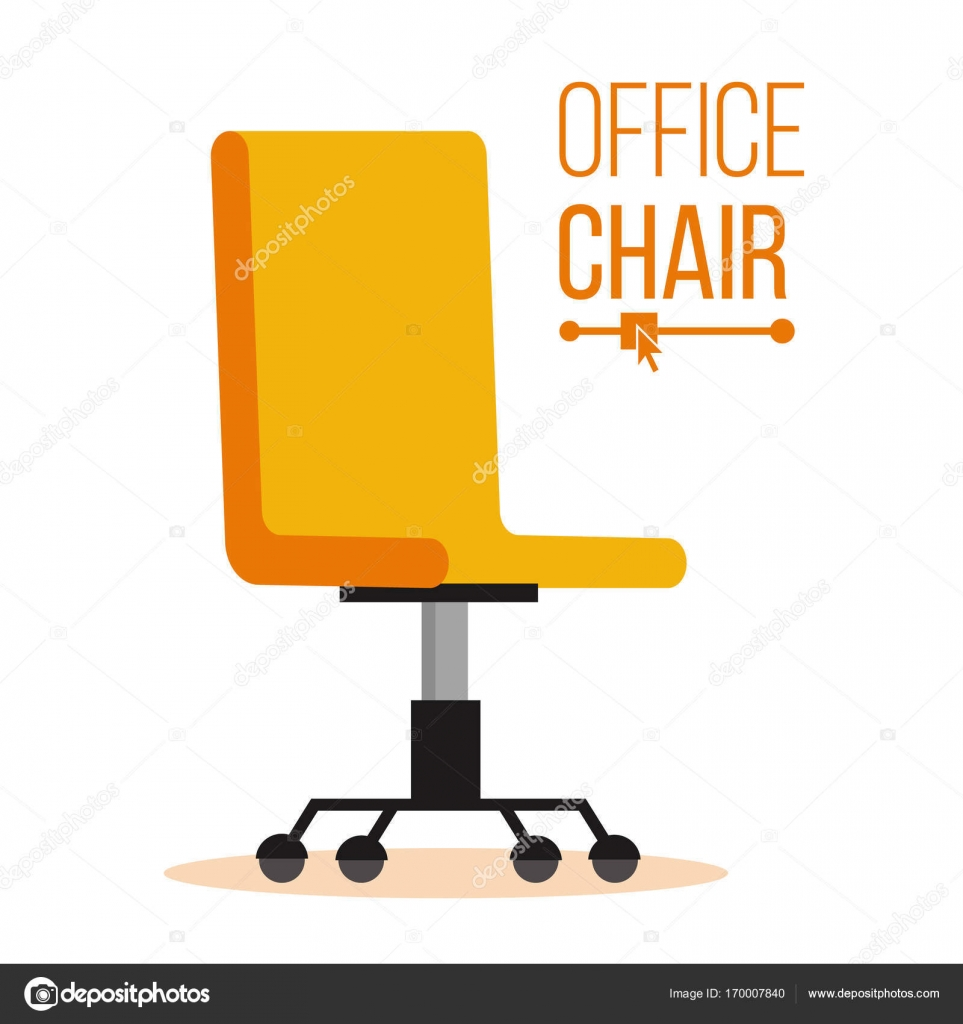 Office Chair Vector. Business Hiring And Recruiting. Empty Seat For  Employee. Ergonomic Armchair