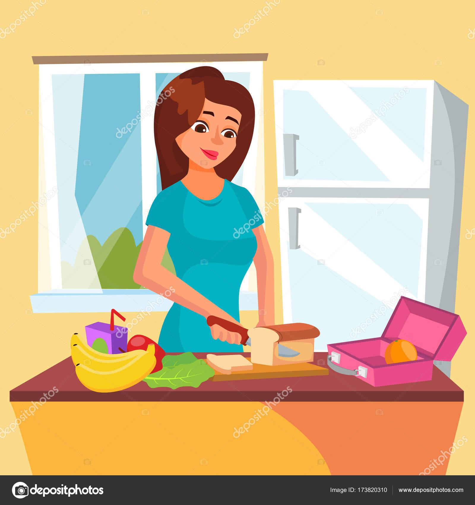 vector de caja de almuerzo caja de almuerzo cl u00e1sico con cook clipart free cook clipart black and white