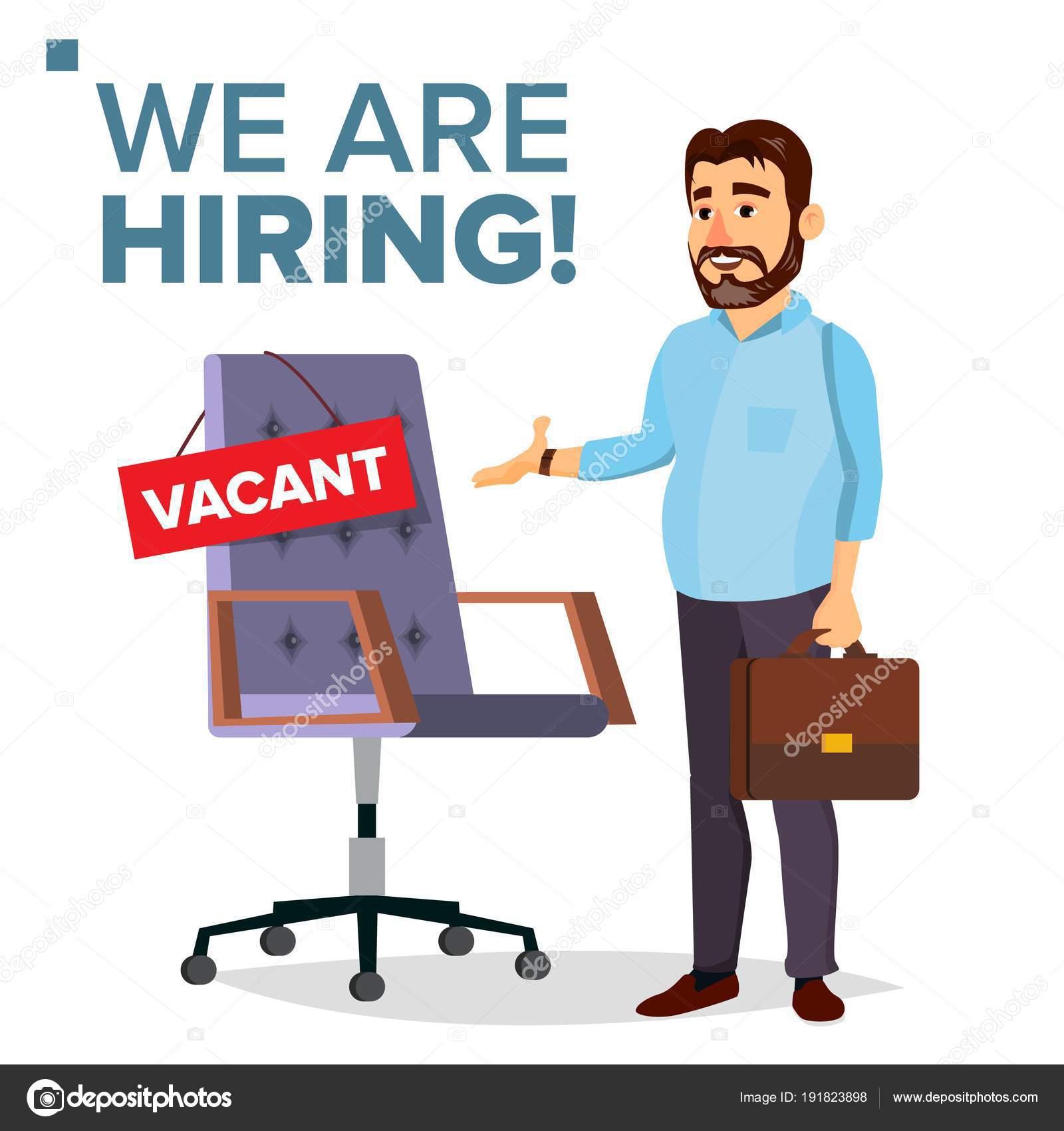 Recruitment Process Vector Human Resources Businessman Choice Of