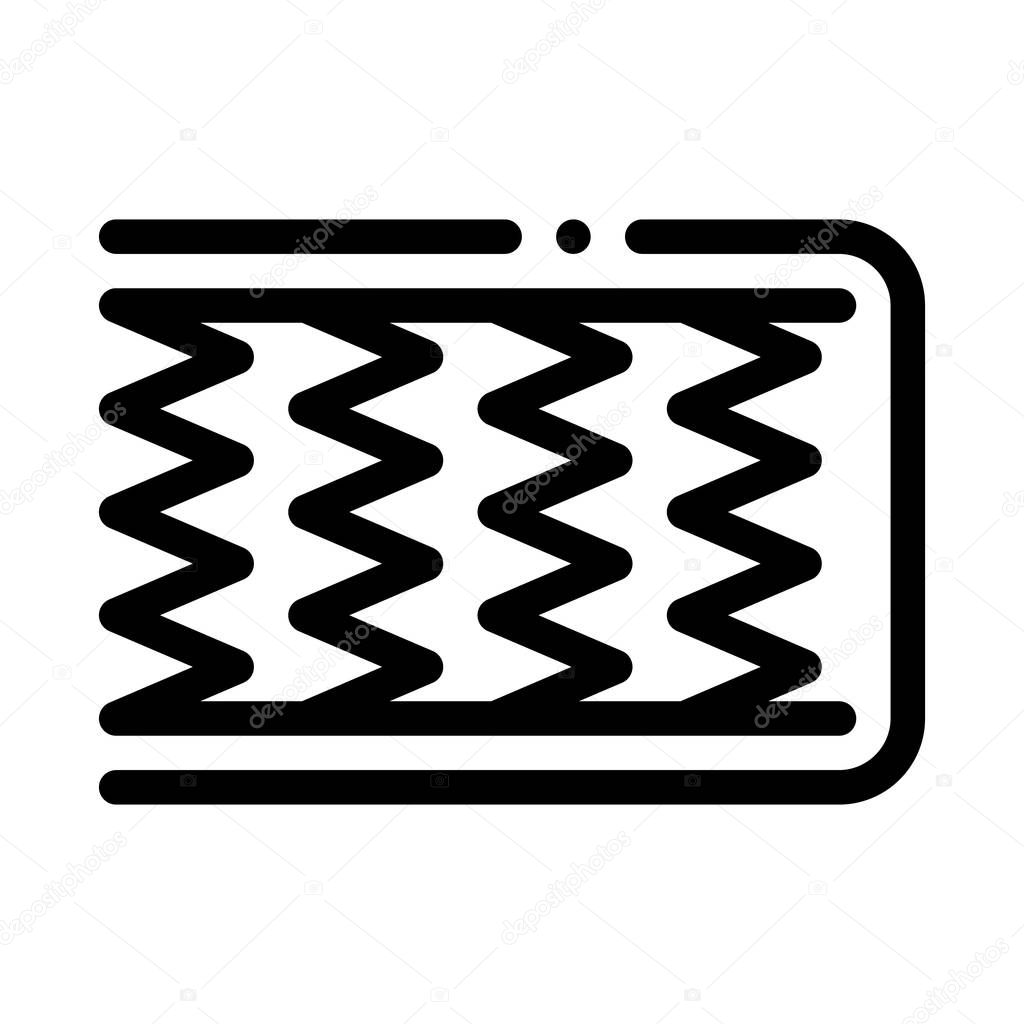 Mattress Metal Springs Icon Vector Outline Mattress Metal Springs Sign Isolated Contour Symbol Illustration Premium Vector In Adobe Illustrator Ai Ai Format Encapsulated Postscript Eps Eps Format