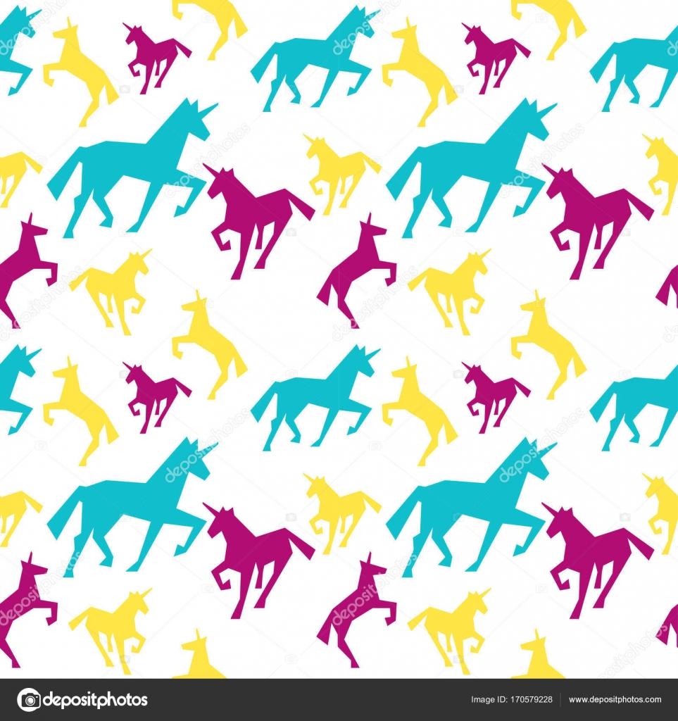 patrón sin costuras unicornio — Vector de stock © Marina_Mandarina ...