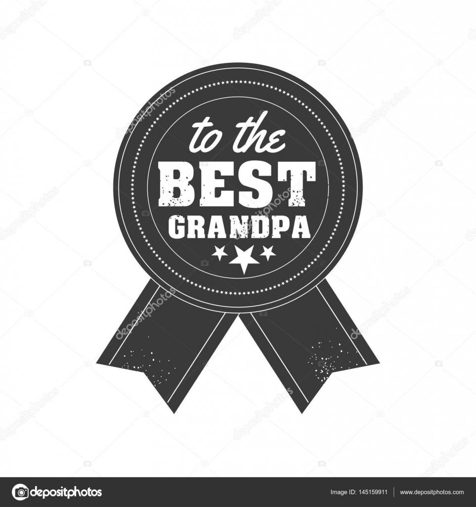 grattis farfar Isolerade farföräldrar dag citat på den vita bakgrunden. Till de  grattis farfar