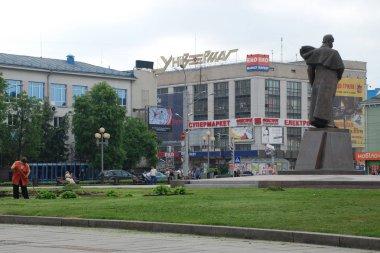 Soborna Street in Rivne