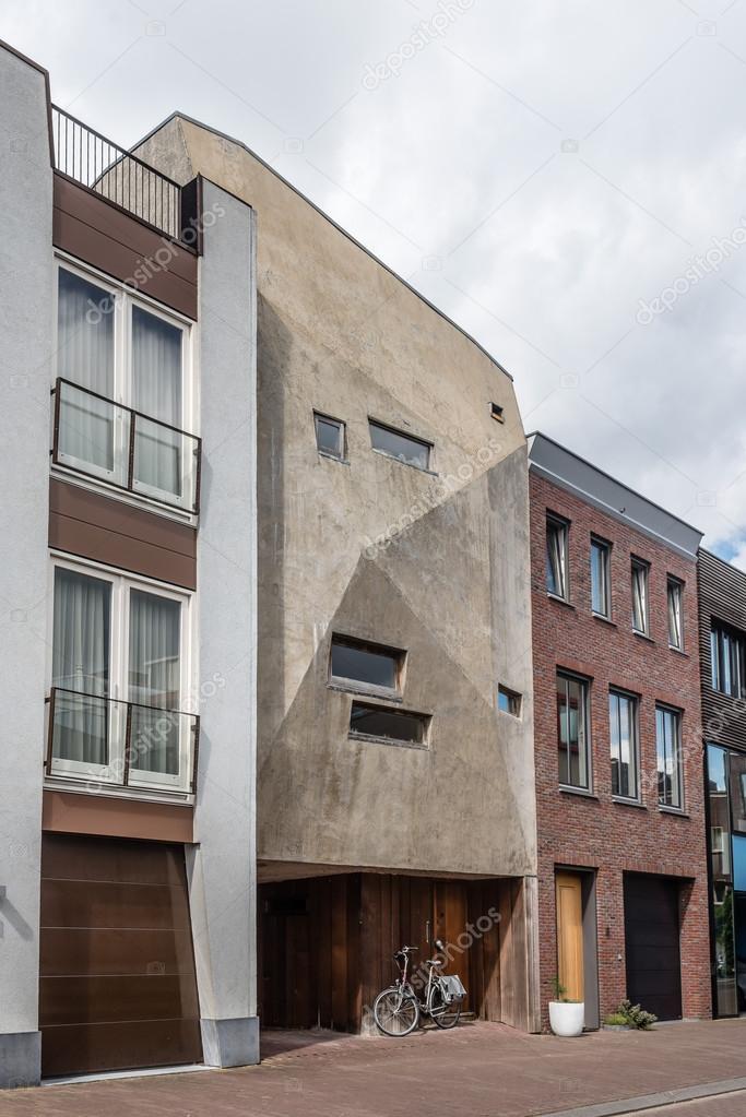 Arquitectura moderna casas en Amsterdam — Foto editorial de stock ...