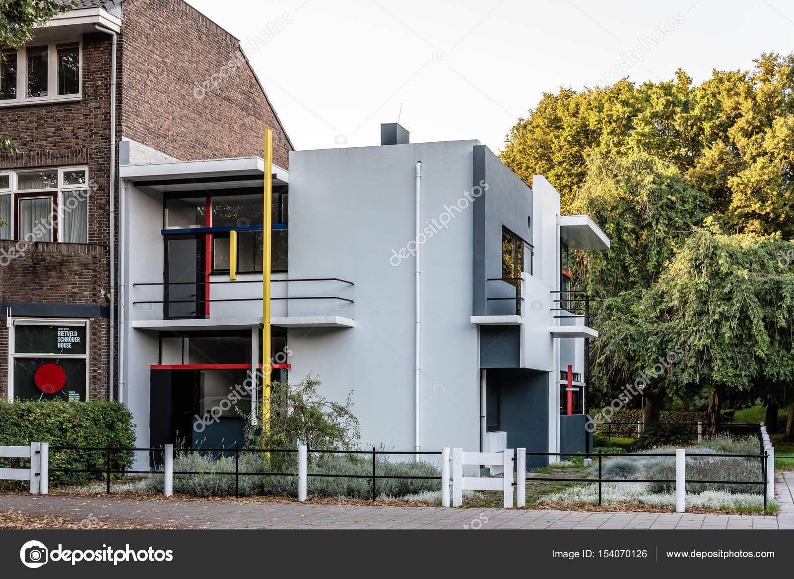 Das Schröder Haus Von Gerrit Rietveld In Utrecht Niederlande