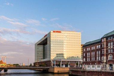 Der Spiegel news magazine headquarter in Hamburg