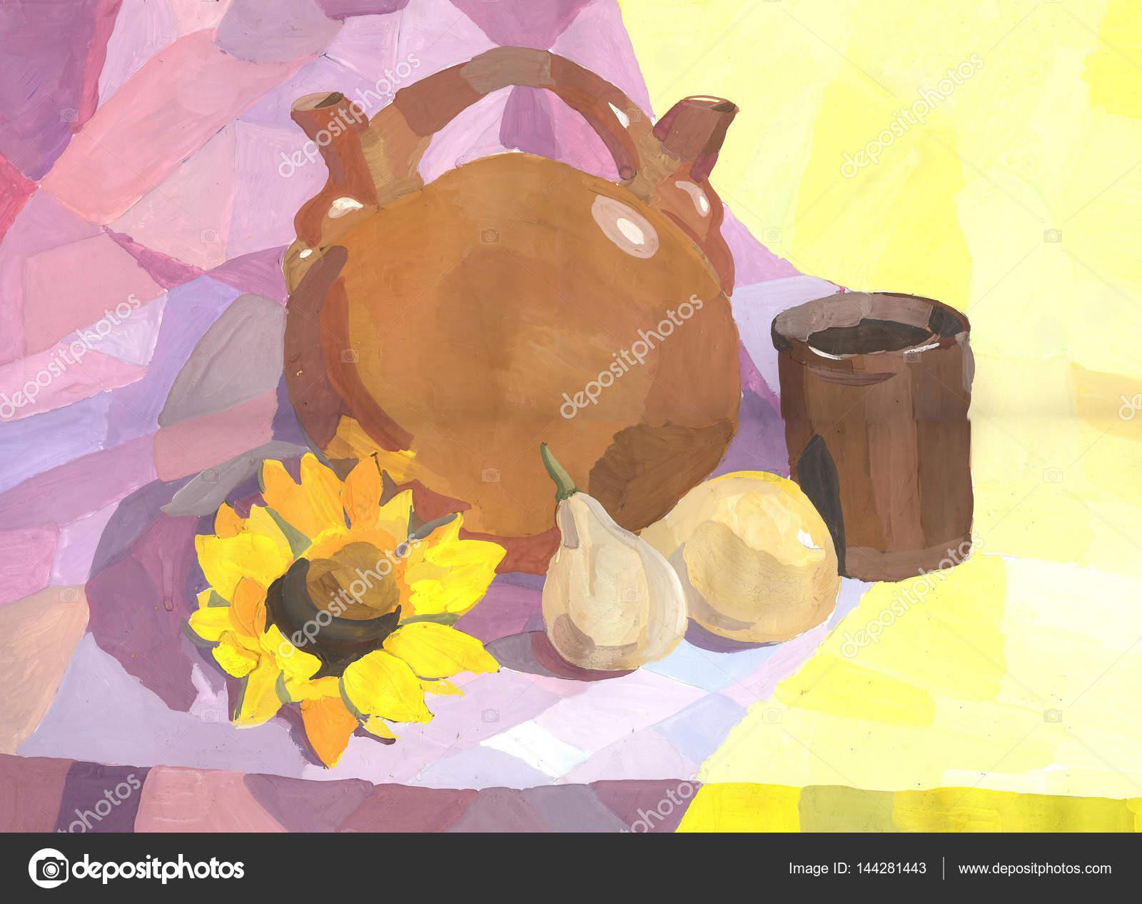 Nacrt Akvarel Kresleni Zatisi Stock Fotografie C Strekalova 144281443
