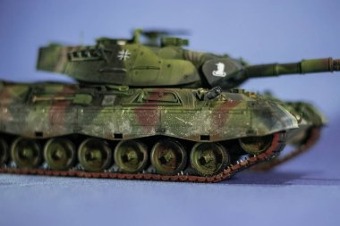 Model of Tiger tank from WWII