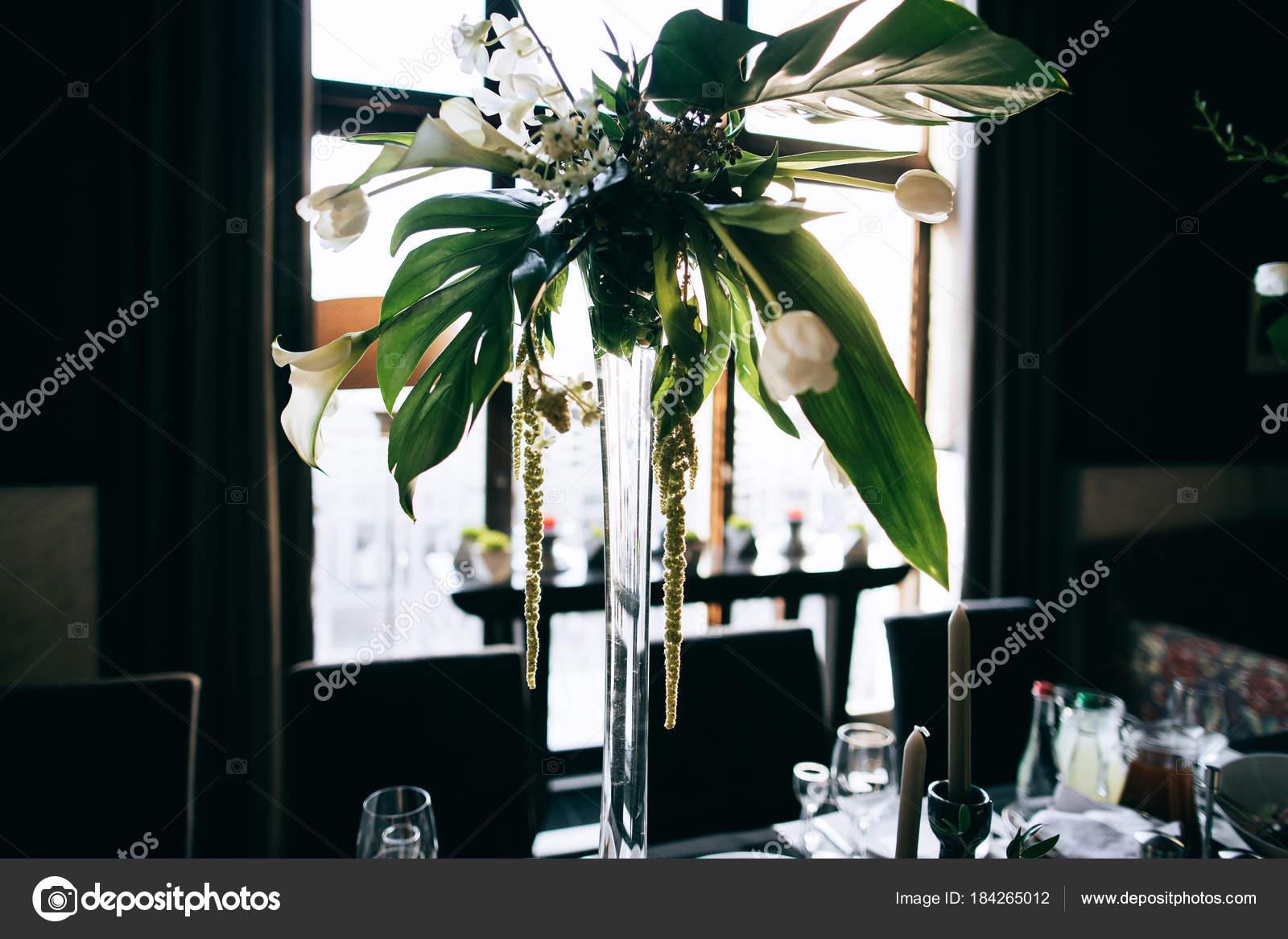 Schone Hochzeitsblumen Dekoration Stockfoto C Beorm 184265012