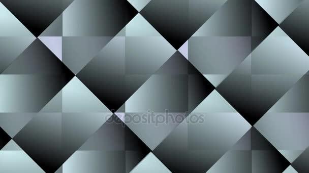 Rotující Poloprůhledný polygonální segmenty, změna barev, video pozadí pro intro