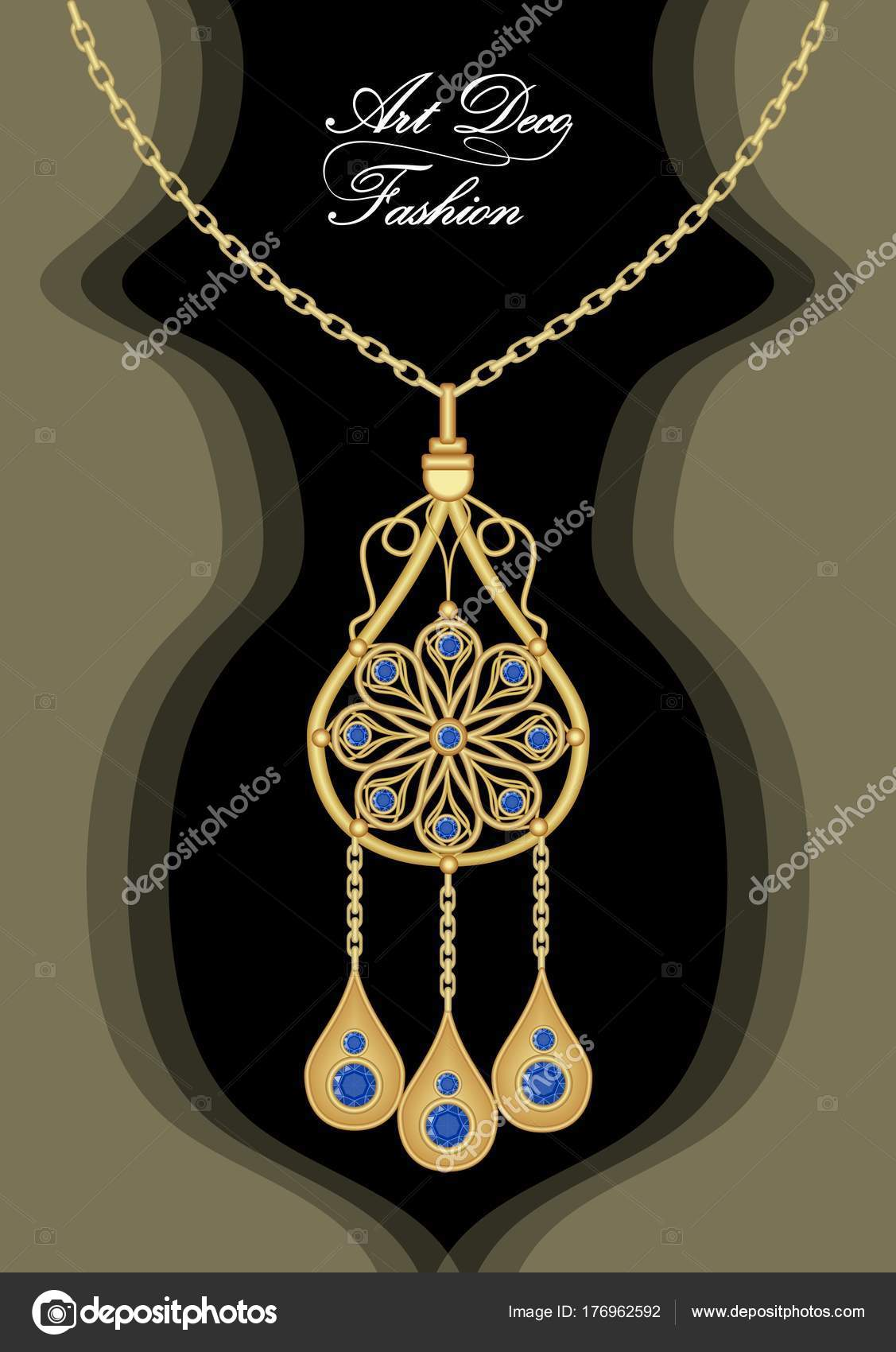 necklace plated product simple detail jewelry set expensive circle pendant gold