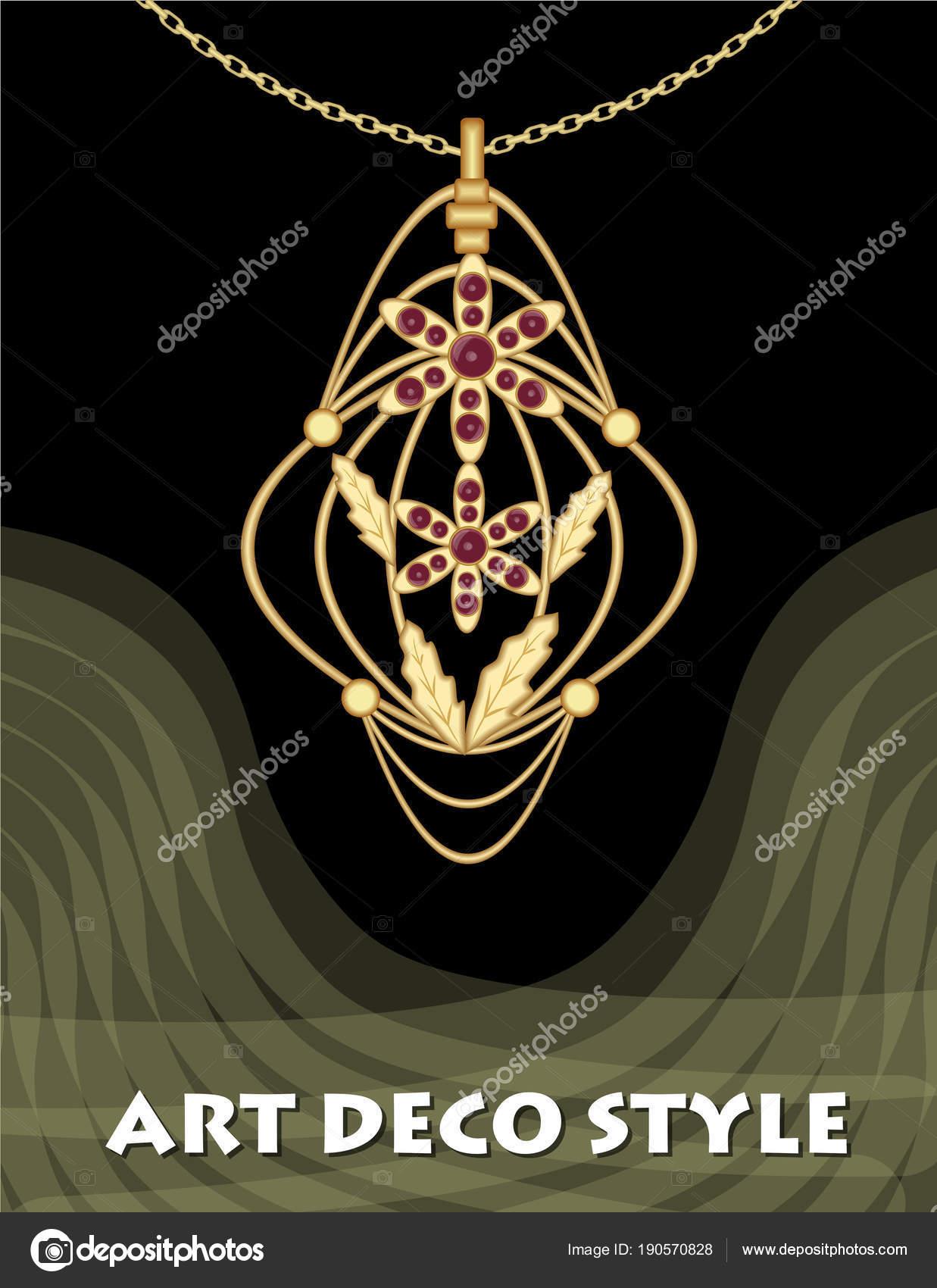 Luxusní art deco filigrán přívěšek a5080a3ebd3