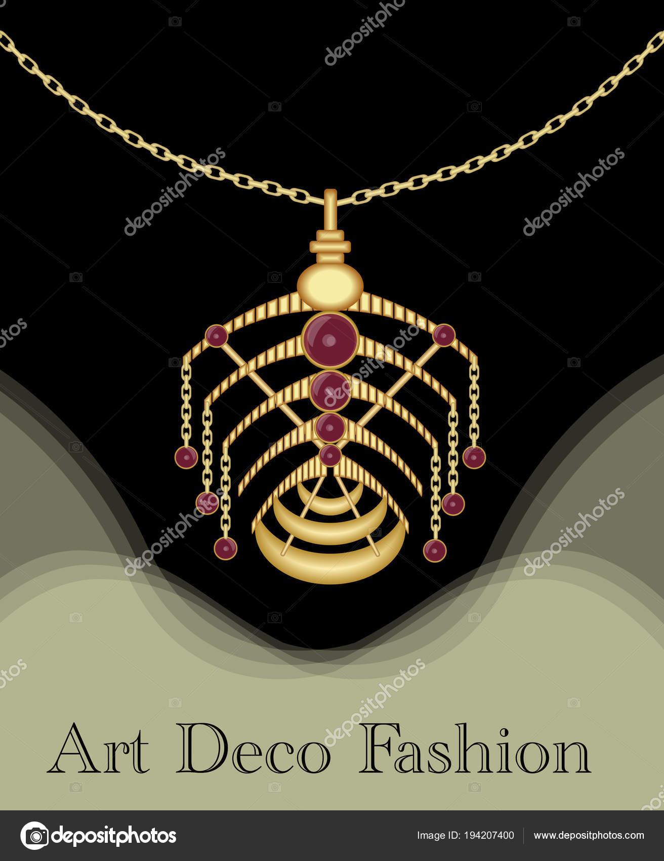 Luxusní art deco filigránové přívěšek d5ac63f3ccd